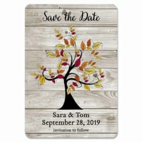 Seasons Of Love 1 Save The Date Magnets