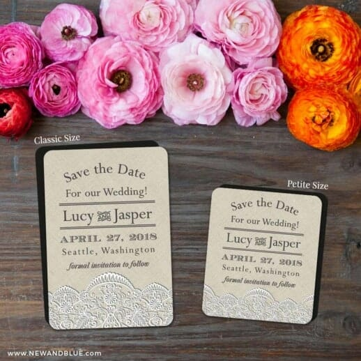 Seattle 2 Save The Date Magnet Classic And Petite Size