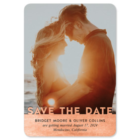 Shine On 1 Save The Date Magnets