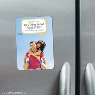 Shout It Out 3 Scratch Off Refrigerator Save The Date Magnets