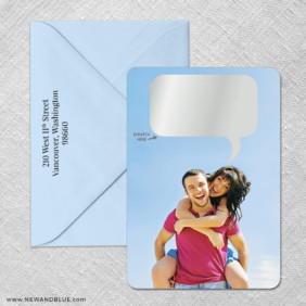 Shout It Out 4 Scratch Off Save The Date With Optional Color Envelope
