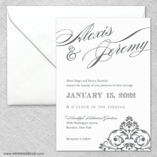 Signature 2 Invitation And Envelope