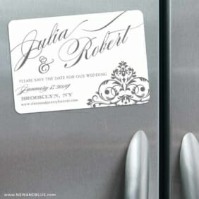 Signature 3 Refrigerator Save The Date Magnets
