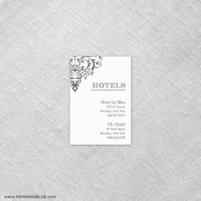 Signature 7 Reception Card