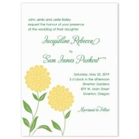 Silverton Wedding Invitation