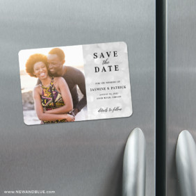 Simply Sweet 4 Refrigerator Save The Date Magnets