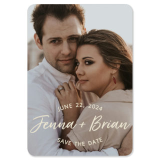 Simply Us 1 Save The Date Magnets