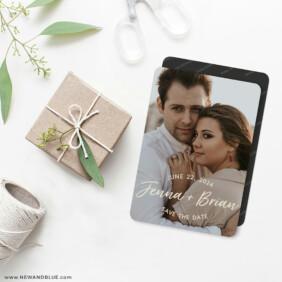 Simply Us 4 Wedding Magnet
