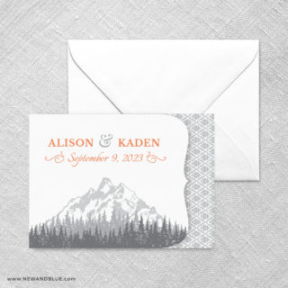 Skamania All In One Invitation Set