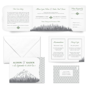 Skamania All Inclusive Wedding Invitation