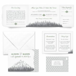 Skamania All Inclusive Wedding Invitation