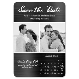 Smoldering Love 1 Save The Date Magnets