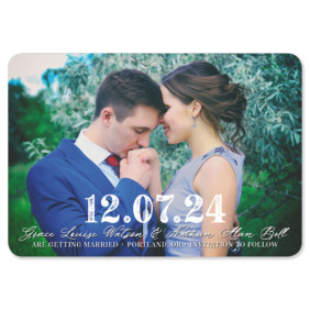 So Romantic 1 Save The Date Magnets