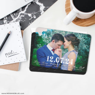 So Romantic 6 Wedding Save The Date Magnets With Envelope