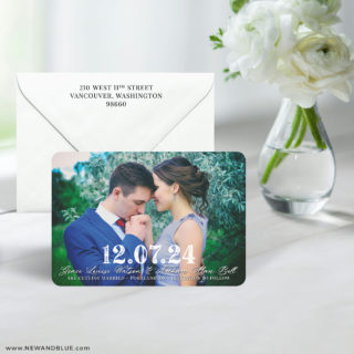 So Romantic 7 Wedding Save The Date Magnet