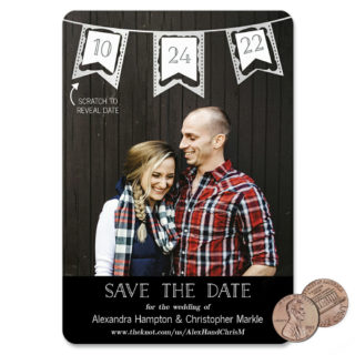 Soiree V2 1 Scratch Off Save The Date Magnet