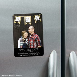 Soiree V2 3 Scratch Off Refrigerator Save The Date Magnets