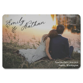 Solemn 1 Save The Date Magnets