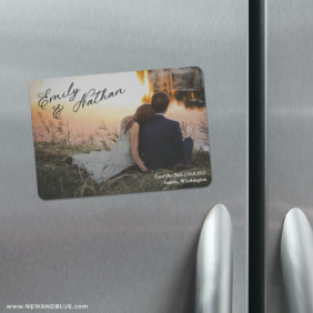 Solemn 4 Refrigerator Save The Date Magnets