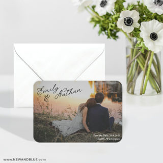 Solemn 6 Wedding Save The Date Magnets
