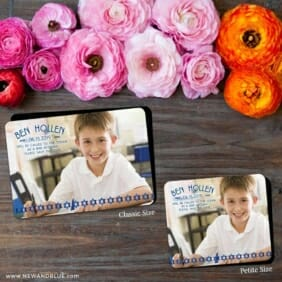 Solomon Bar Mitzvah 2 Save The Date Magnet Classic And Petite Size