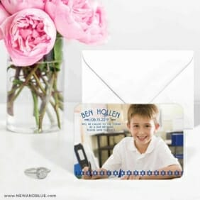 Solomon Bar Mitzvah 6 Wedding Save The Date Magnets