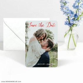Someone Like You 3 Foil Save The Date Magnet With Envelope