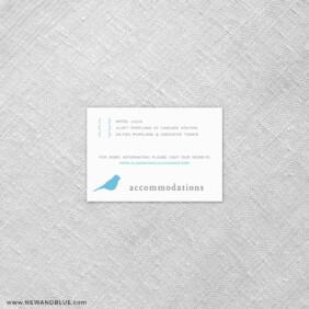 Songbird 7 Reception Card