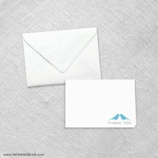 Songbird 8 Thank You Card