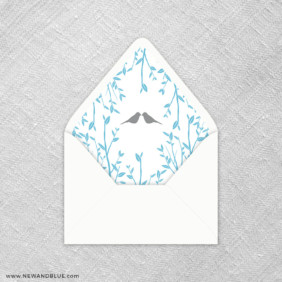 Songbird 9 Envelope Liner