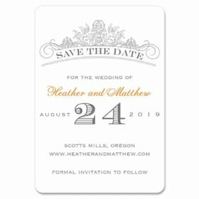 Sonnet 1 Save The Date Magnets