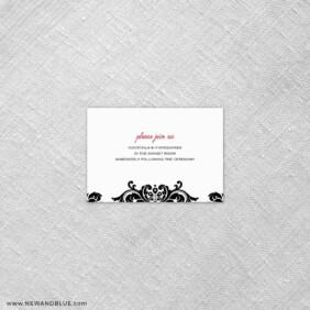Sonoma 7 Reception Card