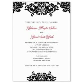 Sonoma Wedding Invitation