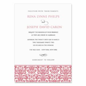 Sorrento Wedding Invitation