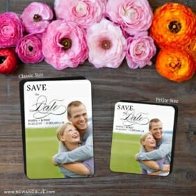 Sparks Of Passion 2 Save The Date Magnet Classic And Petite Size