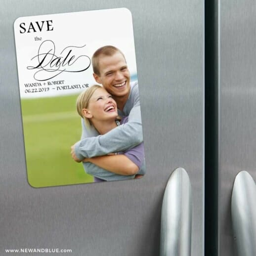 Sparks Of Passion 3 Refrigerator Save The Date Magnets