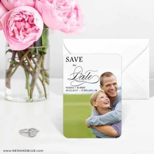 Sparks Of Passion 6 Wedding Save The Date Magnets