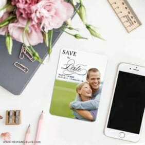Sparks Of Passion 7 Wedding Save The Date Magnets