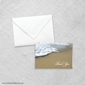Starfish By The Sea 8 Thank You Card