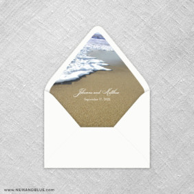 Starfish By The Sea 9 Envelope Liner