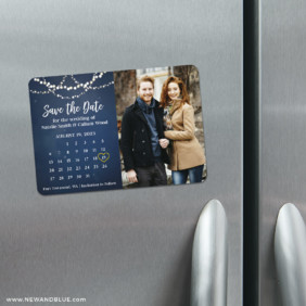 Starlight V2 4 Refrigerator Save The Date Magnets