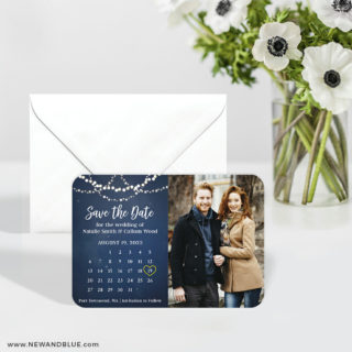 Starlight V2 6 Wedding Save The Date Magnets