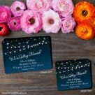 String Of Lights 2 Save The Date Magnet Classic And Petite Size
