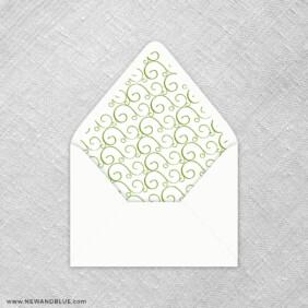 Sunflower 9 Envelope Liner