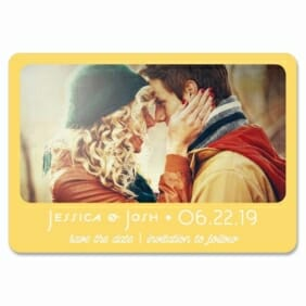 Sunshine 1 Save The Date Magnets