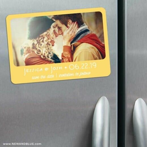 Sunshine 3 Refrigerator Save The Date Magnets