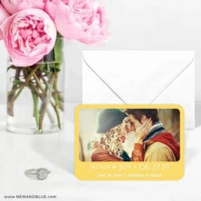 Sunshine 6 Wedding Save The Date Magnets