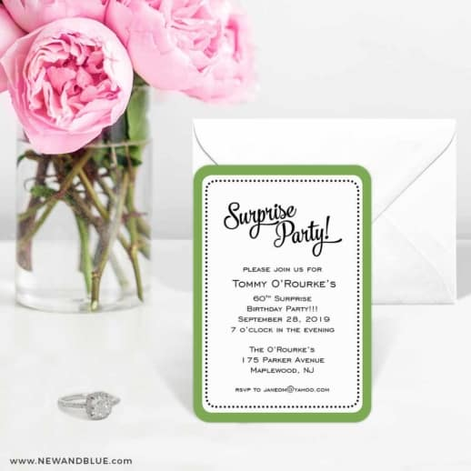 Surprise Party 6 Wedding Save The Date Magnets