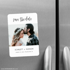 Sweet Romance 2 Save The Date Refrigerator Magnet