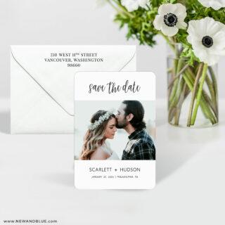 Sweet Romance 7 Wedding Save The Date Magnet